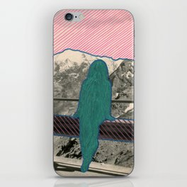 Yeti's Wife iPhone Skin