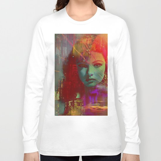 The girl of Tuesday evening Long Sleeve T-shirt