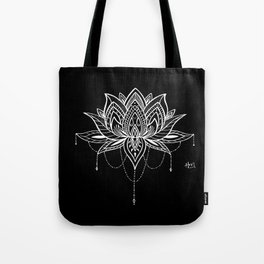 Lotus Love Tote Bag