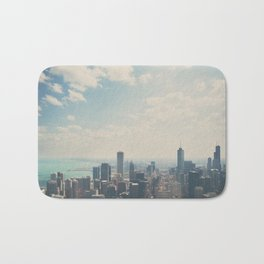 Looking down on the city ... Bath Mat