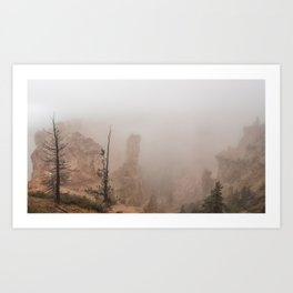 Bryce Canyon Obscured Art Print