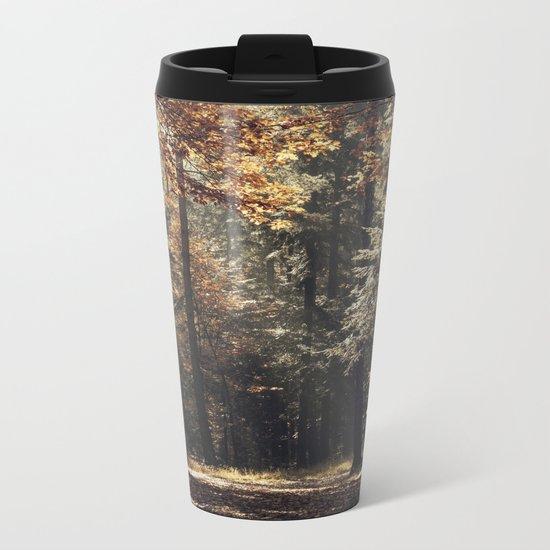 Autumn light Metal Travel Mug