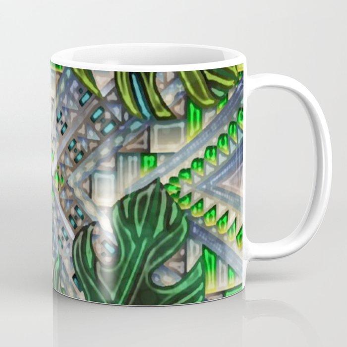 Botanical Boho Pattern Coffee Mug