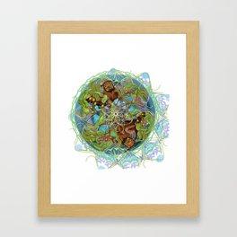 Kelp Forest Framed Art Print