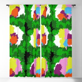Flowers for Mark Rothko and Cézanne. Blackout Curtain