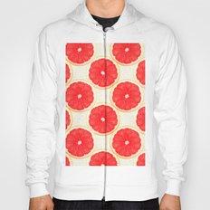 grapefruit pattern Hoody