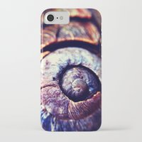 shell iPhone & iPod Cases featuring Shell by Efua Boakye