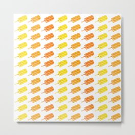 Colorful Popsicles - Summer Pattern Metal Print