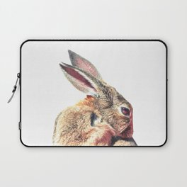 Rabbit Portrait Laptop Sleeve