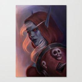 Sylvanas Windrunner Canvas Print
