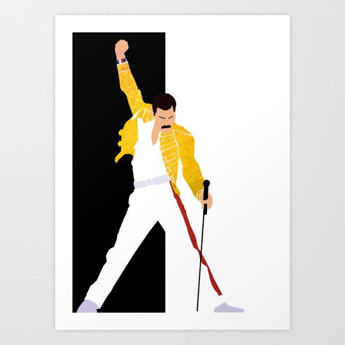 Freddie m Art Print