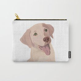 Golden (Lab) Girl Carry-All Pouch
