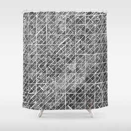 Spider Web Inverted Shower Curtain