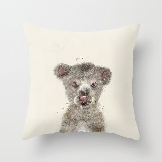 little koala Throw Pillow