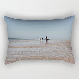 Beach Walkers Rectangular Pillow