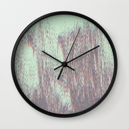 Cold Rain Wall Clock