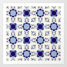Portuense Tile Art Print