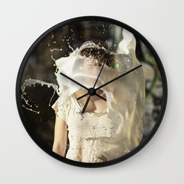 Margot Simonney- Le Grand Spectacle du Lait // The Grand Spectacle of the Milking Wall Clock