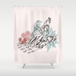 Foot Shower Curtain