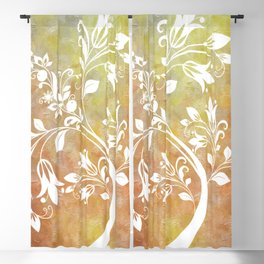 Whimsical Tree Blackout Curtain