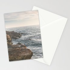 Ocean (Rocks Within the Misty Blue) Stationery Cards