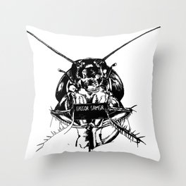 The Metamorphosis Throw Pillow