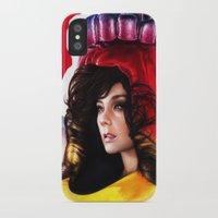 bjork iPhone & iPod Cases featuring BJORK - VOLTA by Denda Reloaded