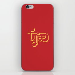 Let's type like indians do. iPhone Skin