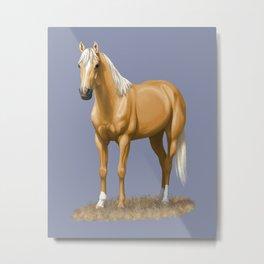 Beautiful Palomino Quarter Horse Metal Print