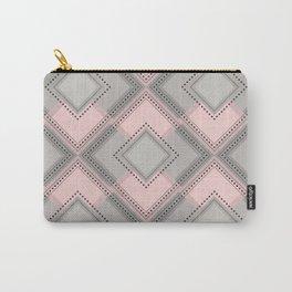Floor Like Diamond Geometric Design Carry-All Pouch