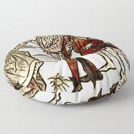 Circe in De claris mulieribus Floor Pillow