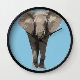 Cutout Elephant  Wall Clock