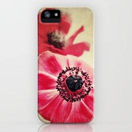 Sweet Anemone II iPhone Case
