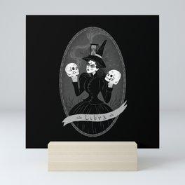 Libra Witchy Zodiac Mini Art Print