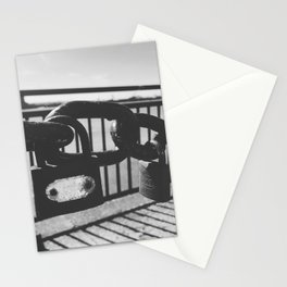 Love locks Stationery Cards
