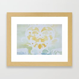 Faded Glory Framed Art Print