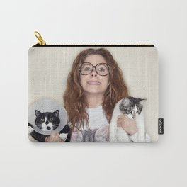 Crazy Cat Lady Photograph Carry-All Pouch