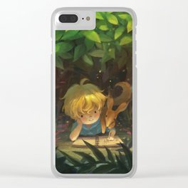 Secret Forest Clear iPhone Case