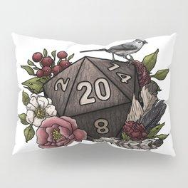 Druid Class D20 - Tabletop Gaming Dice Pillow Sham