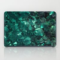 emerald iPad Cases featuring Emerald by Lotus Effects