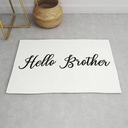 Hello Brother Rug