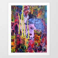 Relapse to Donnybrook Art Print