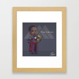 Wizard Trainer Framed Art Print