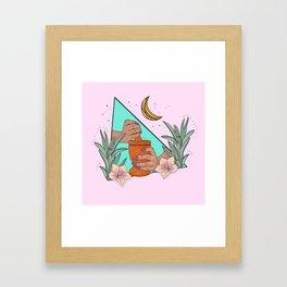 Mujer Divina Framed Art Print