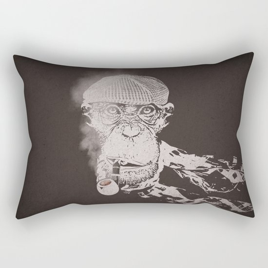 The Coffee Shop Philosopher  Rectangular Pillow