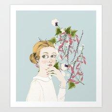 Elviras Art Print