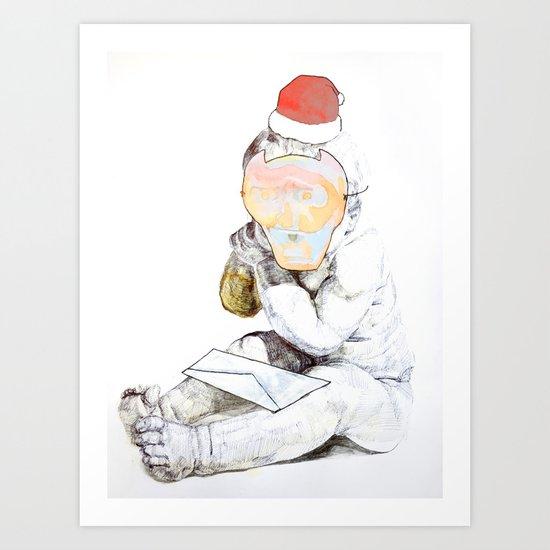 Aprés Noël Art Print