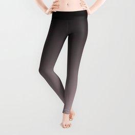 Black, pink - gray Ombre. Leggings