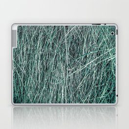 green grass texture abstract background Laptop & iPad Skin