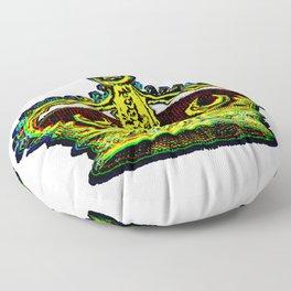 Crowned Floor Pillow